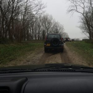 Eerste meters off road