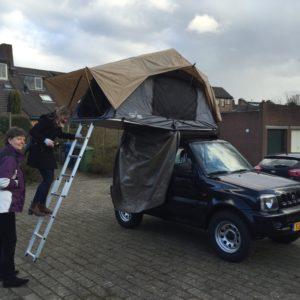 Jimny roof tent