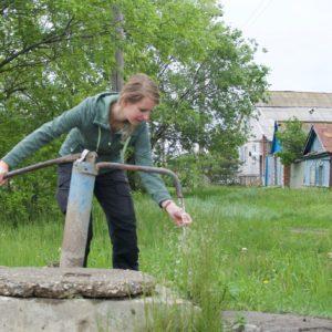 Watervoorziening voor het dorp