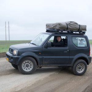 Eerste stuk Kazachstan