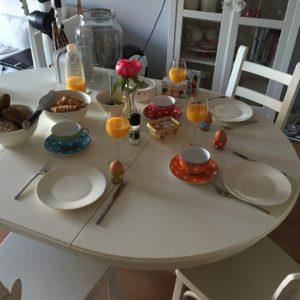 Ontbijt bij Ayla