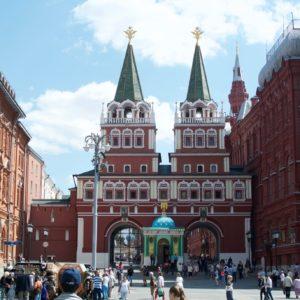 Voskresensky gates