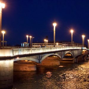St. Petersburg Troitsky brug