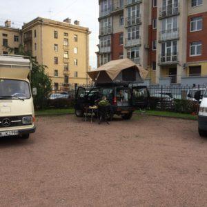Camping / parkeerplaats Hotel Elizar St. Petersburg