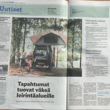 Uutisvuoksi krant in Finland