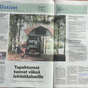 Uutisvuoksi newspaper in Finland
