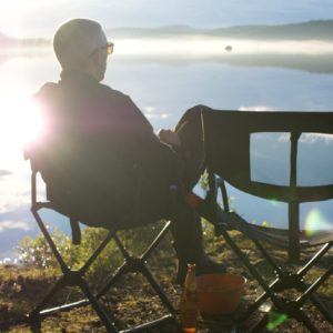 Zonsondergang Finland