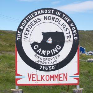 Noordelijkste camping ter wereld?
