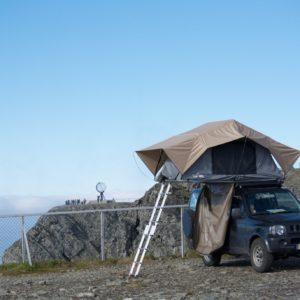 Camping plaats Noordkaap
