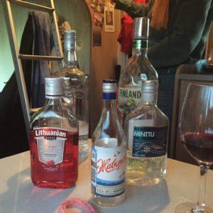 Vodka vanuit: Rusland, Litouwen, Finland en Polen