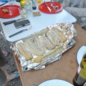 Gerookte vis geep & makreel