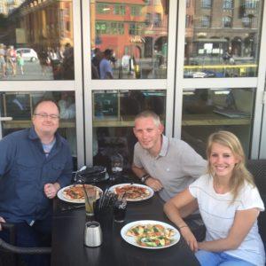 Eten met Scott in Bergen