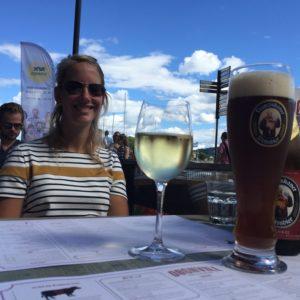Genieten in de haven van Oslo