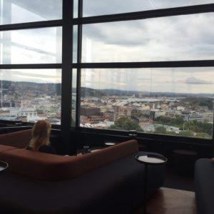 Summit bar met uitzicht over Oslo
